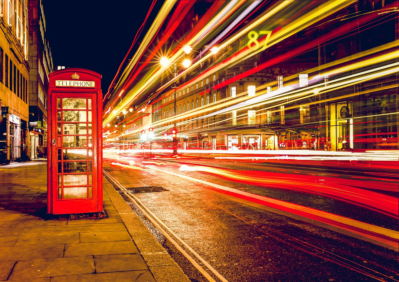 telephone booth, red, london